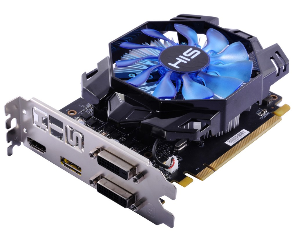 Carte graphique HIS Radeon R7 360 Green iCooler OC