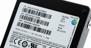 SSD Samsung PM1633a de 15,36 To.