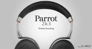 Casque audio sans fil Parrot zik3