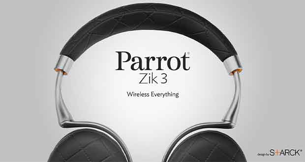 Casque audio sans fil Parrot zik3