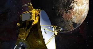 Artist's concept of NASA's New Horizons spacecraft