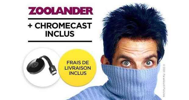 Chromecast 2 et Zoolander