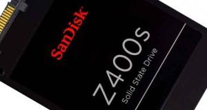 SSD SanDisk Z400s 128 Go