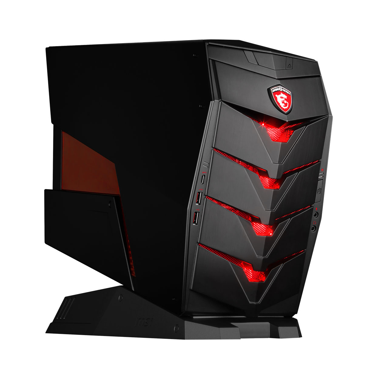 Aegis Msi D 233 Voile Son Pc Gaming Inclin 233 Ginjfo