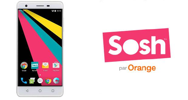 Smartphone SoshPhone 3 de Sosh