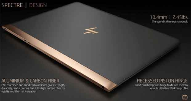 Ordinateur portable HP Spectre