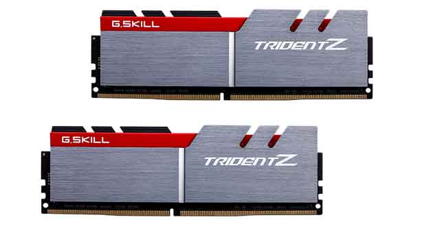 Trident Z DDR4 3600MHz CL15 16GB (8GBx2)