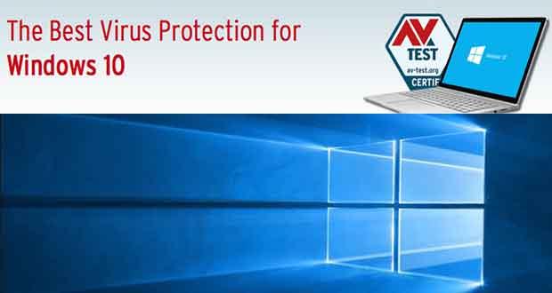 AV Test - Meilleur Antivirus sous Windows 10 - Classement avril 2016
