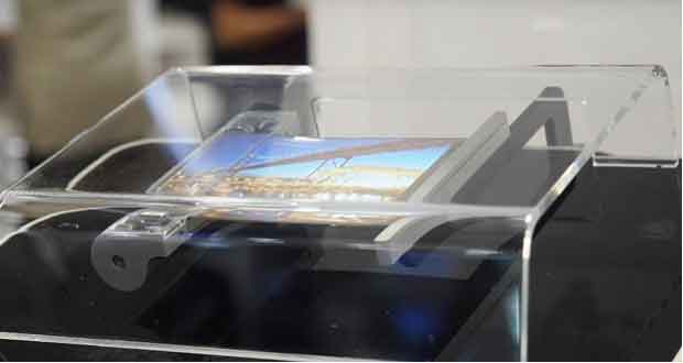 Ecran souple signé Samsung