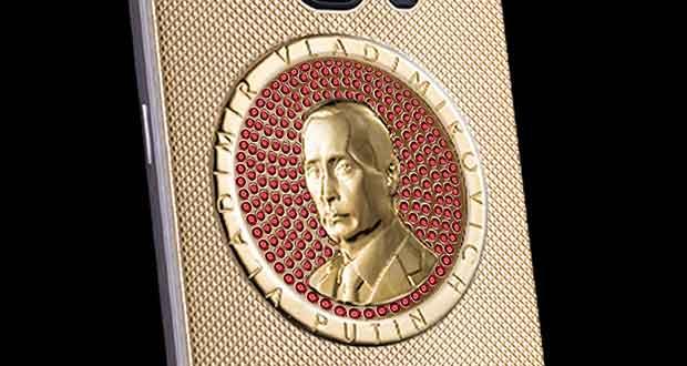 Caviar Samsung Supremo Putin Rubino (Or + rubis)