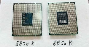Processeur Intel Broadwell-E Core i7-6850K