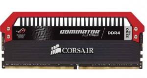 DDR4 Dominator Platinum ROG Edition de Corsair