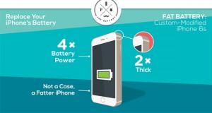 Projet kickstarter Fat Battery