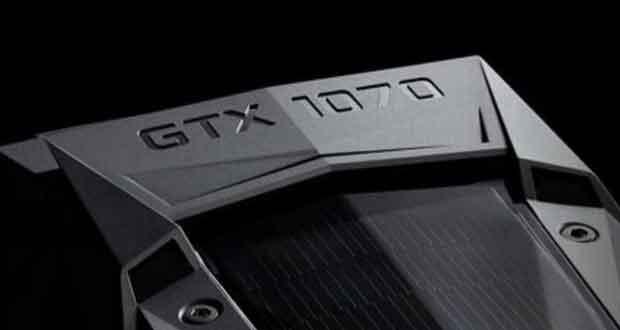Carte graphique GeForce GTX 1070 de Nvidia