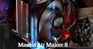 Ventirad Cooler Master MasterAir Maker 8.