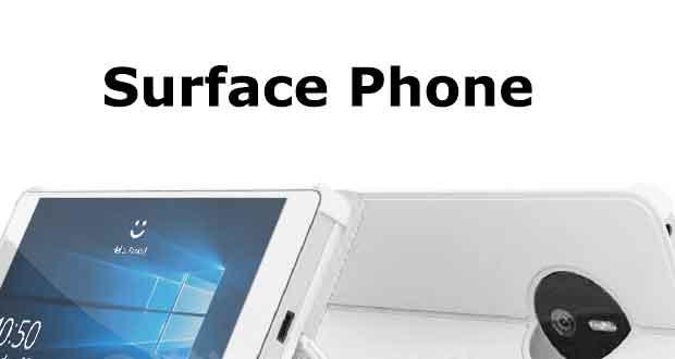 Smartphone Surface Phone de Microsoft ?