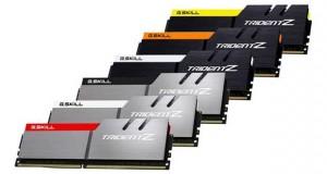Mémoire vive DDR4 Trident Z de G.Skill