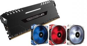 Vengeance LED et Dominator Platinum Special Edition / Ventilateur ML Pro LED