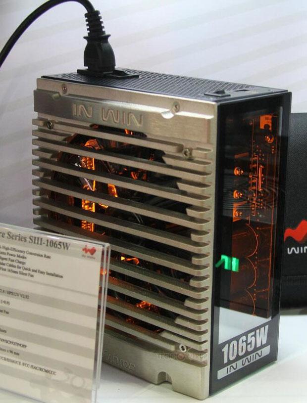 Alimentation In Win Signature S-Series 1065 Watts. Photo Credits : TechPowerup
