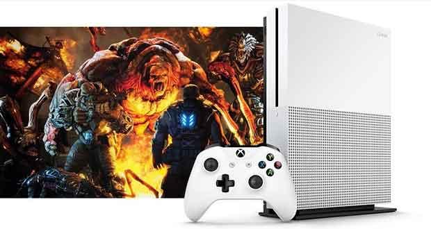Console Xbox One S de Microsoft