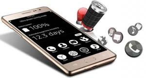 Smartphone Samsung Z3 sous Tizen