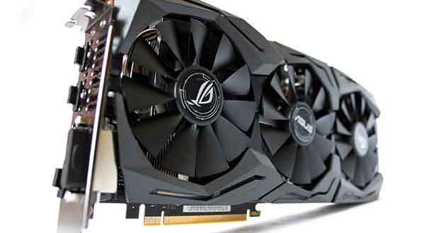 Carte graphique Strix GeForce GTX 1080 OC Edition