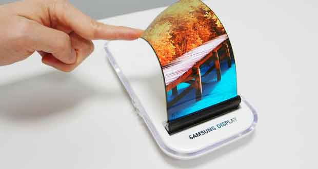 Samsung Display - Ecran souple