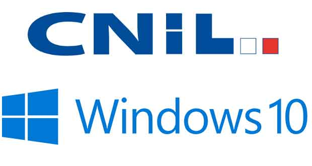 CNIL - Windows 10