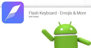 Application Android Flash Keyboard