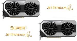 GeForce GTX 1060 Dual 6 GB et GeForce GTX 1060 JetStream series