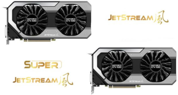 GeForce GTX 1060 Dual 6 GB et GeForce GTX 1060 JetStream series