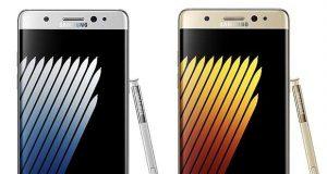 Smartphone Galaxy Note 7 de Samsung