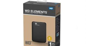 Disque dur externe 2,5 pouces Western Digital Elements de 1 To