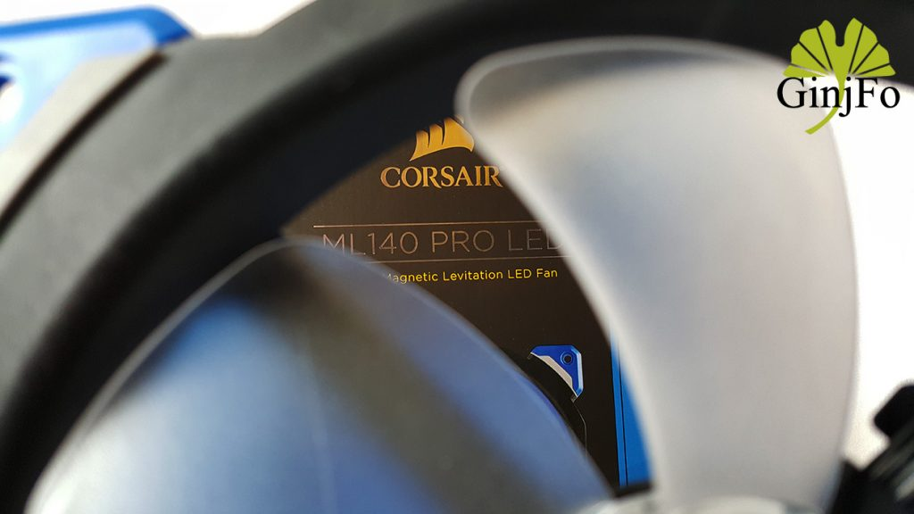 Ventilateur Corsair ML140 Pro LED