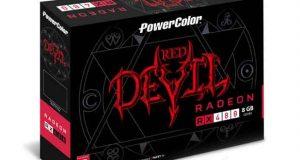 Carte graphique PowerColer Red Devil Radeon RX 480 8GB