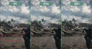 Battlefied 1 comparatif entre les versions pc ps4 et - Meilleur console entre xbox one et ps4 ...