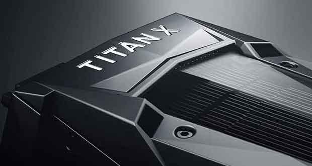 Carte graphique Titan X Pascal de Nvidia