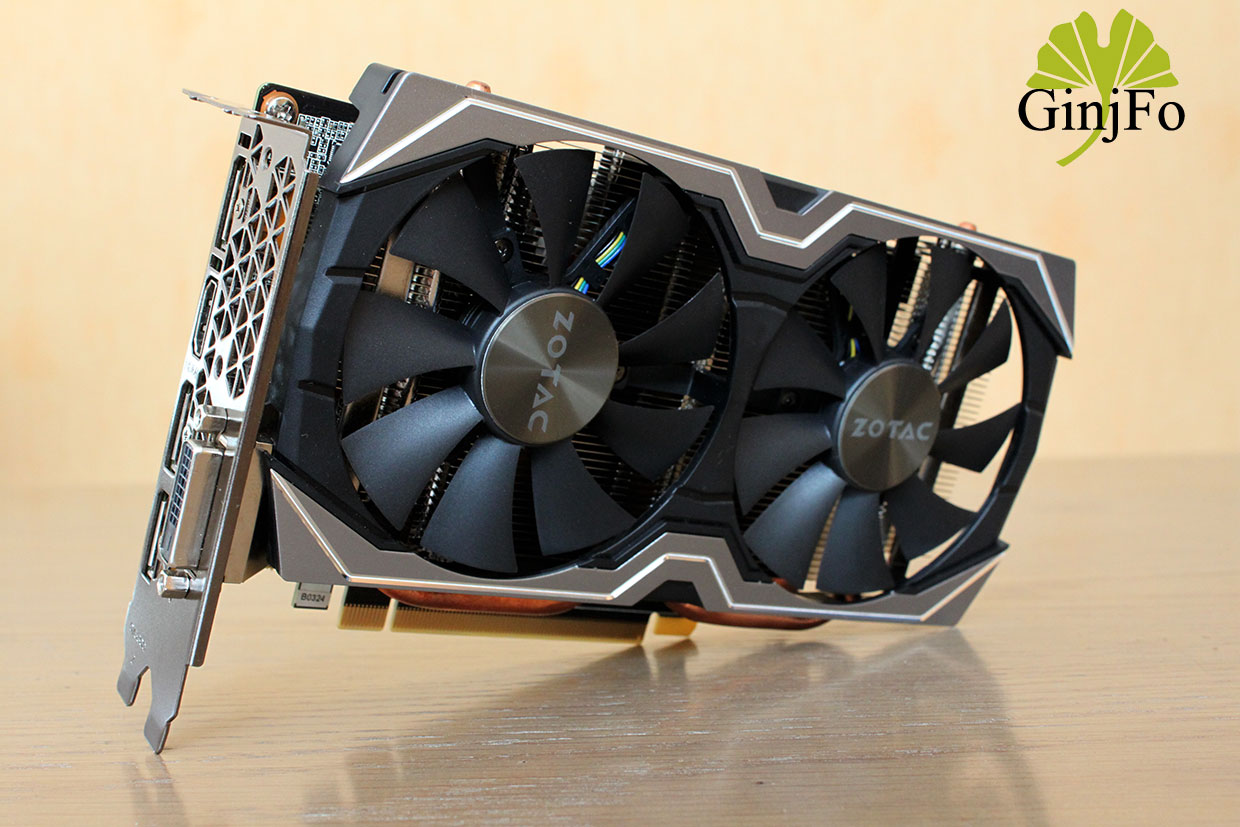 carte graphique zotac geforce gtx 1060 6g test