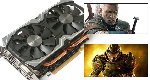GeForce GTX 1060 AMP! Edition de Zotac - Gameplay en 1440p / Full Option