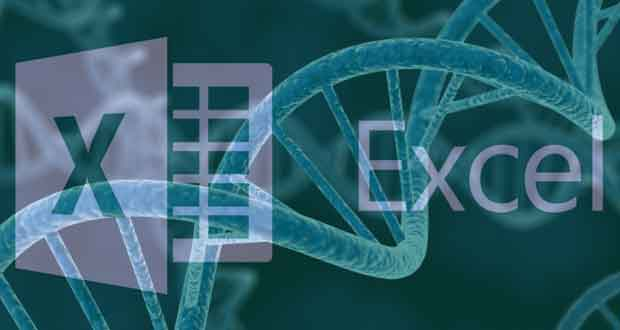 Tableur Microsoft Excel / Document scientifique sur les génes