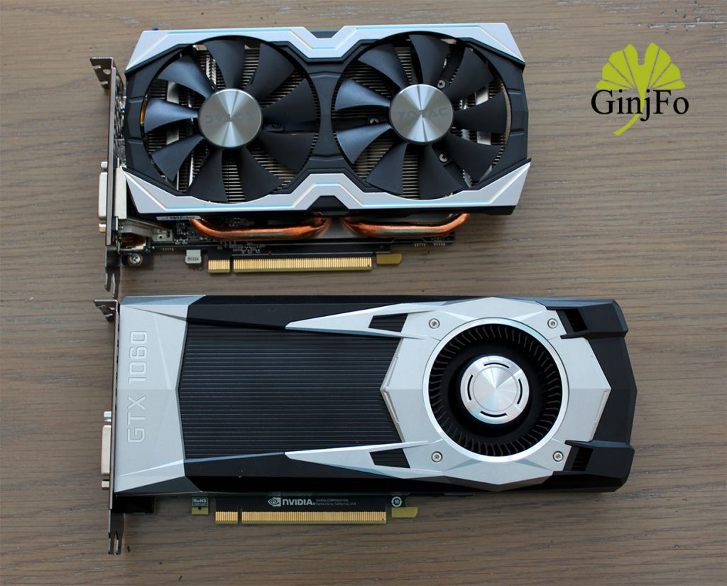 Carte graphique Zotac GeForce GTX 1060 AMP! Edition