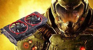 Radeon RX 460 2 Go True OC - Gameplay sous Doom