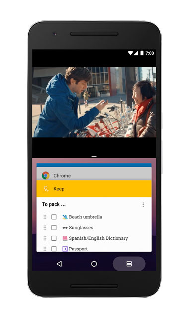 Système d'exploitation Android 7.0 Nougat de Google