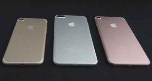 iPhone 7, la famille au grand complet