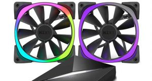 Ventilateur Aer RGB et HUE+ de NZXT