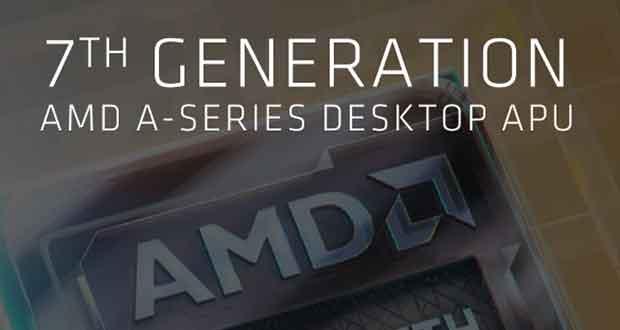 7ième génération d'APU pour PC de bureau - Plateforme AM4
