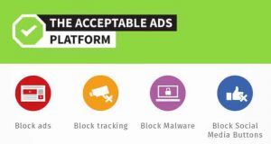 Adblock Plus - Le programme The acceptable ADS Platform