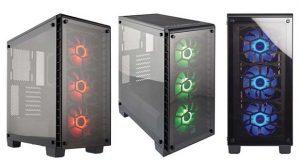 Boitier Corsair Crystal Series 460X RGB