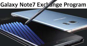Galaxy Note 7 Exchange Program