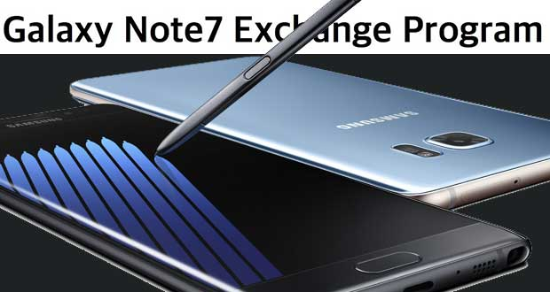 Galaxy Note 7 Exchange Program